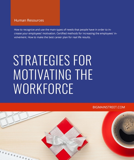 Strategies for Motivating the Workforce Course