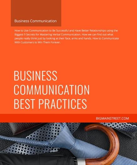 Business Communication Best Practices Course