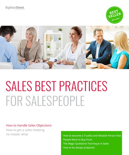 Sales Best Practices for Successful Sales People Course