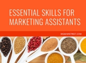 Essential Skills for Marketing Assistants Course